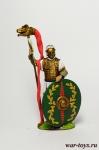 Римский Всадник, Драконарий, II в.н.э. - Оловянный солдатик коллекционная роспись 54 мм. Все оловянные солдатики расписываются художником в ручную