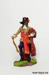 Франсуа Олоне, 1660 - Оловянный солдатик коллекционная роспись 54 мм. Все оловянные солдатики расписываются художником в ручную