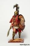 Феспийский гоплит, 5 век до н.э. - Оловянный солдатик коллекционная роспись 54 мм. Все оловянные солдатики расписываются художником в ручную