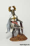 Тевтонский рыцарь - Оловянный солдатик коллекционная роспись 54 мм. Все оловянные солдатики расписываются художником в ручную