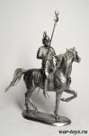 Карфагенский всадник - Оловянный солдатик. Чернение. Высота солдатика 54 мм