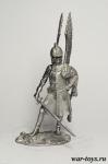 Польский крылатый гусар - Оловянный солдатик. Чернение. Высота солдатика 54 мм