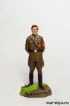Товарищ Исаев - Оловянный солдатик коллекционная роспись 54 мм. Все оловянные солдатики расписываются художником в ручную