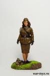 Младший капрал дивизии ПВО, Англия, 1940 - Оловянный солдатик коллекционная роспись 54 мм. Все оловянные солдатики расписываются художником в ручную