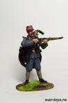 Французский рядовой, 1915 - Оловянный солдатик коллекционная роспись 54 мм. Все оловянные солдатики расписываются художником в ручную