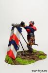 Швейцарский Наемник, Битва при Мариньяно, Италия, 1515 - Оловянный солдатик коллекционная роспись 54 мм. Все оловянные солдатики расписываются художником в ручную