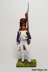 Фузилер-гренадер гвардии - Оловянный солдатик коллекционная роспись 54 мм. Все оловянные солдатики расписываются художником в ручную