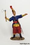 Турецкий вассал 17 век - Оловянный солдатик коллекционная роспись 54 мм. Все оловянные солдатики расписываются художником в ручную