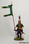 Турецкий Гулям, XII-XIII вв. - Оловянный солдатик коллекционная роспись 54 мм. Все оловянные солдатики расписываются художником в ручную