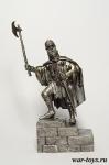Знатный Немецкий рыцарь, 1190 - Оловянный солдатик. Чернение. Высота солдатика 54 мм