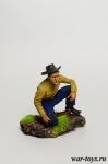 Дикикий запад. Награда - Оловянный солдатик коллекционная роспись 54 мм. Все оловянные солдатики расписываются художником в ручную
