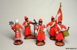 Набор оловянных солдатиков - Стрельцы