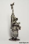 Разносчица какао, Париж, 1814 г. - Оловянный солдатик. Чернение. Высота солдатика 54 мм