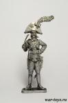 Капитан горильерос, 1809 г - Оловянный солдатик. Чернение. Высота солдатика 54 мм