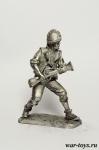 Горильерос Леонских гор - Оловянный солдатик. Чернение. Высота солдатика 54 мм