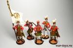 Набор оловянных солдатиков - Шотландцы 1812