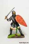 Русский воин-дружинник, 13 век - Оловянный солдатик коллекционная роспись 54 мм. Все оловянные солдатики расписываются художником в ручную