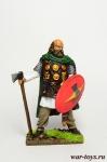 Бритонский воин, 1 век н.э. - Оловянный солдатик коллекционная роспись 54 мм. Все оловянные солдатики расписываются художником в ручную