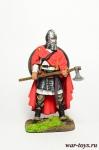 Англосаксонский воин 10 век - Оловянный солдатик коллекционная роспись 54 мм. Все оловянные солдатики расписываются художником в ручную
