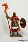Византийский драконарий. 6 век. - Оловянный солдатик коллекционная роспись 54 мм. Все оловянные солдатики расписываются художником в ручную