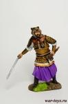 Древнекитайский воин, V в.н.э. - Оловянный солдатик коллекционная роспись 54 мм. Все оловянные солдатики расписываются художником в ручную