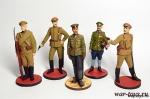 Набор оловянных солдатиков - Первая мировая