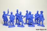 Набор штаб южане синий