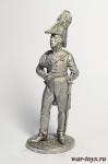 Король Пруссии Фридрих-Вильгельм III. 1808-13 гг. - Оловянный солдатик. Чернение. Высота солдатика 54 мм