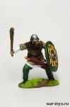 Викинг с палицей IX-X вв - Оловянный солдатик коллекционная роспись 54 мм. Все оловянные солдатики расписываются художником в ручную