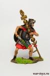 Римский сигнифер, II-III вв. до н.э. - Оловянный солдатик коллекционная роспись 54 мм. Все оловянные солдатики расписываются художником в ручную