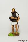 Греческий пельтаст, 5-4 век до н.э. - Оловянный солдатик коллекционная роспись 54 мм. Все оловянные солдатики расписываются художником в ручную