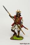 Самурай, 16-17 век - Оловянный солдатик коллекционная роспись 54 мм. Все оловянные солдатики расписываются художником в ручную