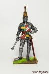 Ричард Невилл, граф Уорвик. Англия, 1455 год - Оловянный солдатик коллекционная роспись 54 мм. Все оловянные солдатики расписываются художником в ручную