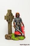 Шотландский рыцарь, 13 век - Оловянный солдатик коллекционная роспись 54 мм. Все оловянные солдатики расписываются художником в ручную