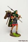 Римский Солдат в походе - Оловянный солдатик коллекционная роспись 54 мм. Все оловянные солдатики расписываются художником в ручную