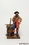 Пират Черная Борода - Оловянный солдатик коллекционная роспись 54 мм. Все оловянные солдатики расписываются художником в ручную