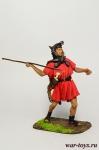 Римский велит, II в. до н.э. - Оловянный солдатик коллекционная роспись 54 мм. Все оловянные солдатики расписываются художником в ручную