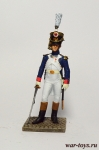 Офицер молодой гвардии 1809 - Оловянный солдатик коллекционная роспись 54 мм. Все оловянные солдатики расписываются художником в ручную