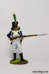 Капрал легкой пехоты 1809 - Оловянный солдатик коллекционная роспись 54 мм. Все оловянные солдатики расписываются художником в ручную