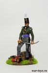 Британский Офицер 1815 - Оловянный солдатик коллекционная роспись 54 мм. Все оловянные солдатики расписываются художником в ручную