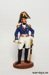 Вице-король Италии принц Евгений Богарне. 1809-14 гг. - Оловянный солдатик, роспись 54 мм. Все оловянные солдатики расписываются художником в ручную