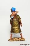 Знатный египетский воин, 2-1 тыс до н. э. - Оловянный солдатик коллекционная роспись 54 мм. Все оловянные солдатики расписываются художником в ручную