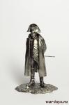 Император Наполеон I Бонапарт - Оловянный солдатик. Чернение. Высота солдатика 54 мм