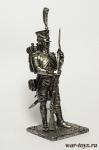 Сапер инженеров 1807 - Оловянный солдатик. Чернение. Высота солдатика 54 мм