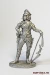 Герои и легенды. Лучница - Оловянный солдатик. Чернение. Высота солдатика 54 мм