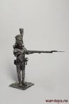 Рядовой пеших гренадер Стар. Имп. гвардии. Франция 1812 - Оловянный солдатик. Чернение. Высота солдатика 54 мм