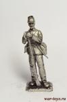 Рядовой Федеральной армии. 1861-1865 гг. - Оловянный солдатик. Чернение. Высота солдатика 54 мм