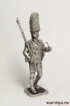 Гренадер полка Корона - Оловянный солдатик. Чернение. Высота солдатика 54 мм