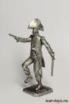 Офицер абордажной команды, Франция - Оловянный солдатик. Чернение. Высота солдатика 54 мм