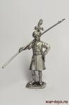 Рядовой карабинерного полка, 1812 - Оловянный солдатик. Чернение. Высота солдатика 54 мм